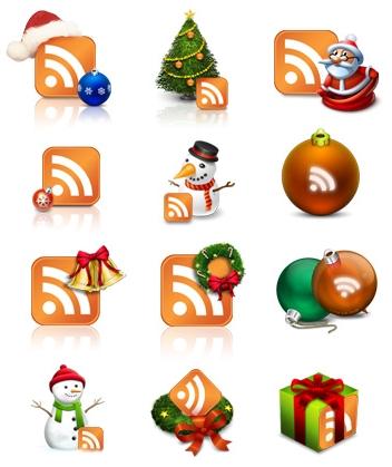 RSS icon noël