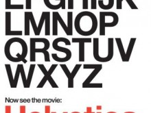 helvetica film affiche