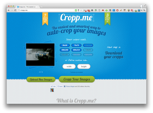 Webdesign2803 Fr Cropp Me L Outil En Ligne Pour Rogner Rapidement Des Images