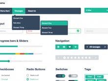Bootstrap-flat-design